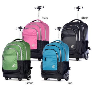 Olympia 'Gen-X' 19-inch Carry On Rolling Backpack