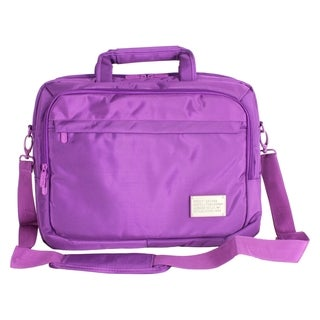 "Digital Treasures ToteIt! Deluxe Carrying Case for 15"" Notebook - Pur"