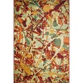 Laurent Autumn/ Multi Rug (3'9 x 5'2)