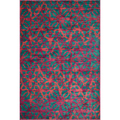 Laurent Plum/ Multi Rug  (5'2 x 7'7)