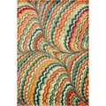 Skye Monet Orange/ Multi Rug (2'0 X 3'0)