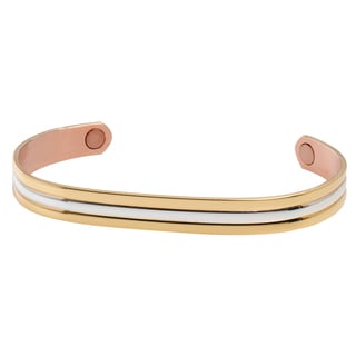 Sabona Gold/Silver Classic Duet Magnetic Wristband