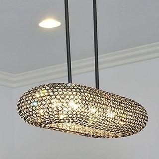 Glimmer 8-light Crystal Pendant