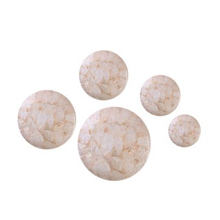 Decorative Wall Buttons (Set of 5)