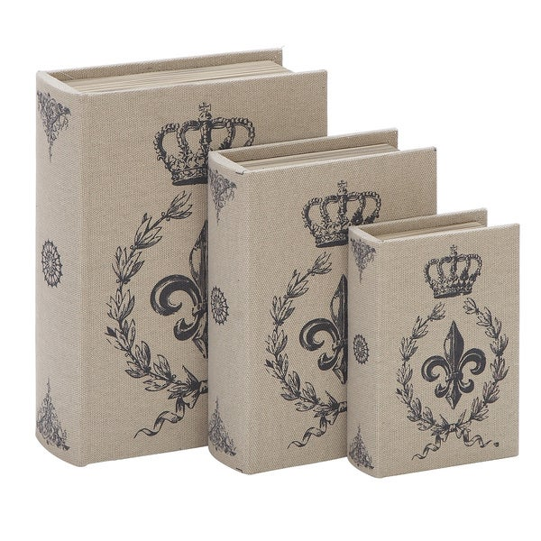 Library Storage Books Set (Set of 3)