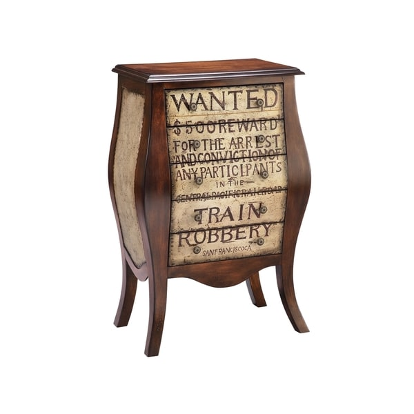 Calamity 5-drawer 'Wanted' Design Accent Chest