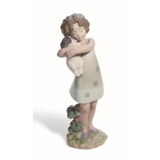 Lladro 'Learning To Care' Porcelain Figurine