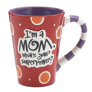 Mom 'Super Power' Ceramic Mug