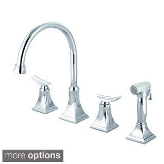 Pioneer Prenza Series 2PR201 Double-handle with Side Spray Kitchen Faucet