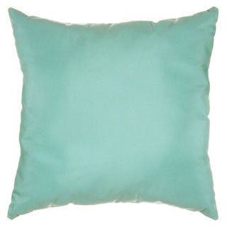 Sunbrella 17x17-inch Glacier Outdoor Canvas Throw Pillow