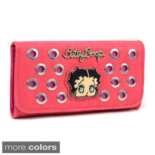 Betty Boop Cut-out Checkbook Wallet