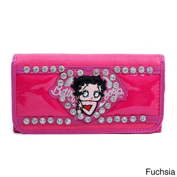 Betty Boop Checkbook Wallet Purse