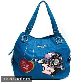 Betty Boop Brooch and Belted Shoulder Bag