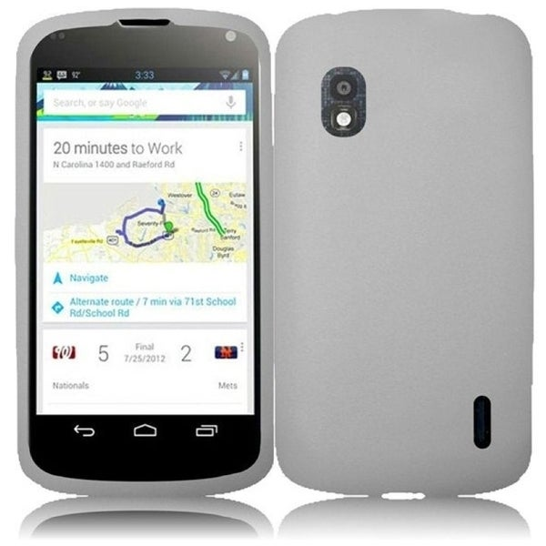 BasAcc Silicone Case for LG Nexus 4 E960T
