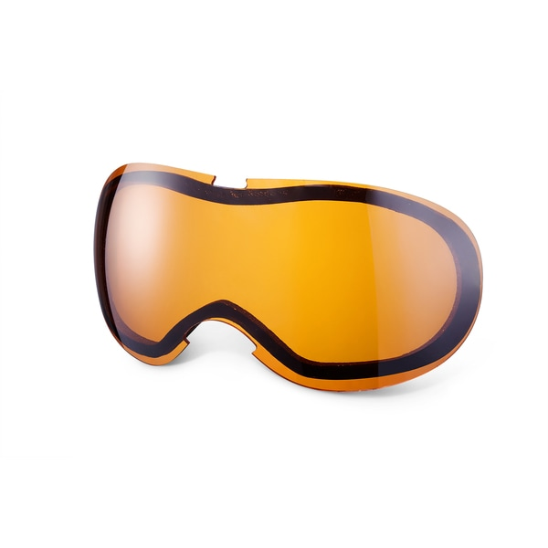 GLX Dual Thermal Pane Replacement Lens for SBP-50 Youth Snow Goggles (Persimmon)