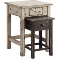 'Marianella' Distressed Nesting Tables (Set of 2)