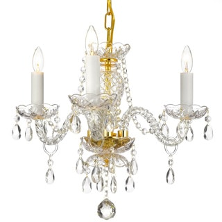 Gallery 3-light Venetian Crystal Chandelier