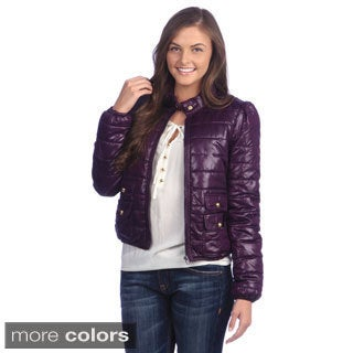 Maralyn & Me Short Water-resistant Packable Women's Contemporary Jacket
