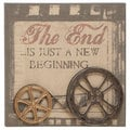 Motion Picture Metal and Wood Film Wall Decor