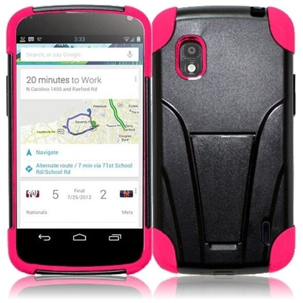 BasAcc Case with Stand for LG Nexus 4 E960T