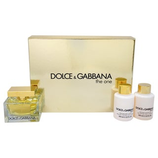 Dolce & Gabbana 'The One' Women's 3-piece Gift Set