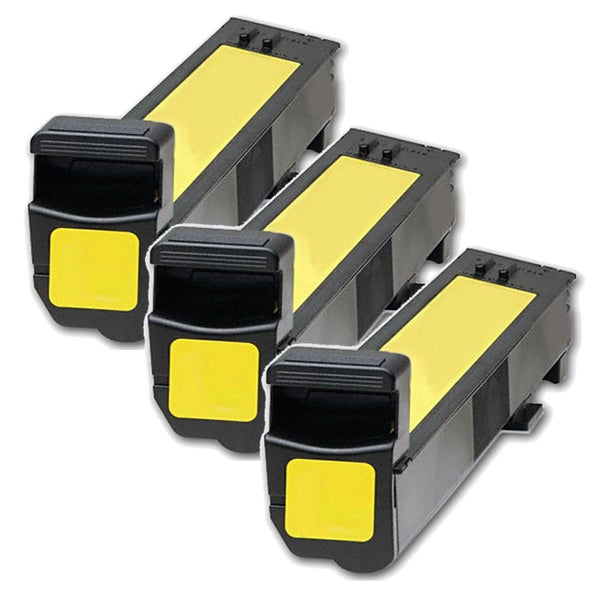 HP CB382A (HP 824A) Compatible Yellow Toner Cartridge (Pack of 3)