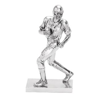 Table Top Polystone Football Player Statue