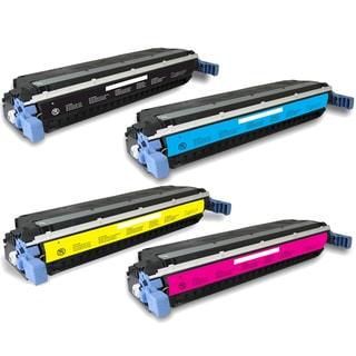HP C9730A (HP 645A) Compatible Black Cyan Yellow Magenta Toner Cartridge Set (Pack of 4)