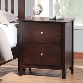 Metropolitan Wooden Modern Night Stand