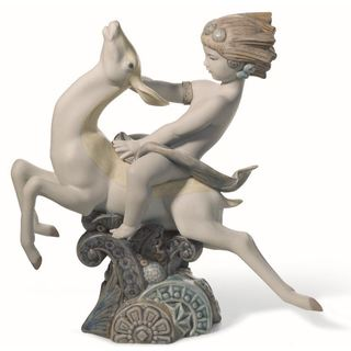 Lladro Life Impulse Porcelain Figure