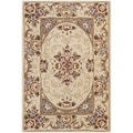 Safavieh Handmade Persian Court Multicolored Wool/ Silk Rug (2' x 3')