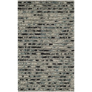 Safavieh Hand-woven Bohemian Grey Jute Rug (2'6 x 4')