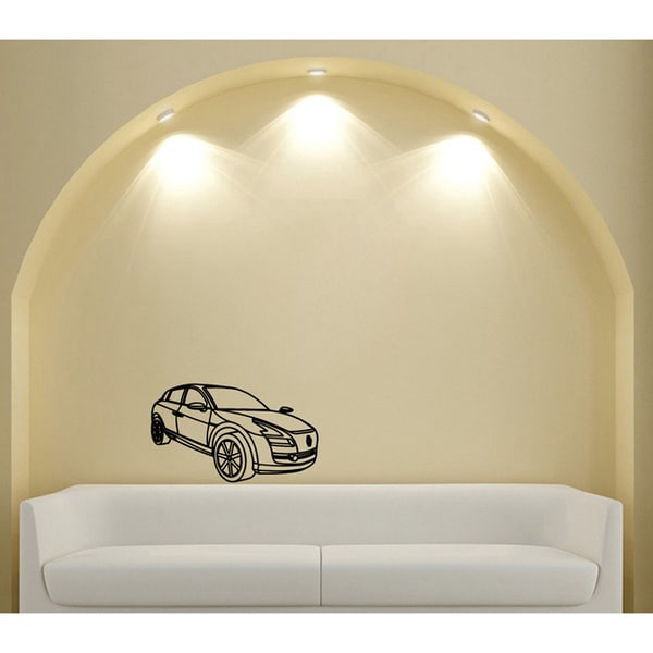 Cabriolet Vinyl Wall Decal