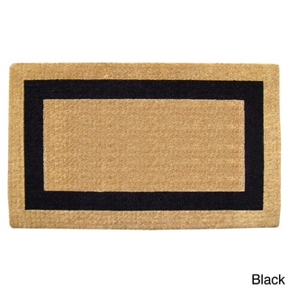 Heavy-Duty Coir Single Picture Frame Doormat