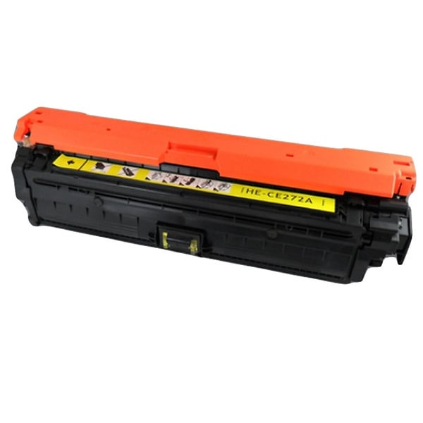 HP CE272A (HP 650A) Compatible Yellow Toner Cartridge