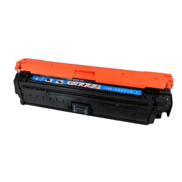 HP CE271A (HP 650A) Compatible Cyan Toner Cartridge