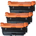 HP CE260X (HP 649X) Compatible Black Toner Cartridges (Pack of 3)