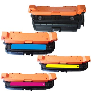 HP CE260A (HP 647A/ 648A) Compatible Black Cyan Yellow Magenta Toner Cartridges (Pack of 4)