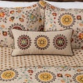 Greenland Home Fashions Andorra Neck Roll Decorative Pillow
