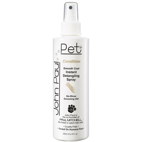 John Paul Pet Smooth Coat Instant Detangling Grooming Spray