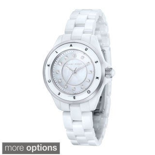 Klaus Kobec Women's 'Luna' Stainless Steel Watch