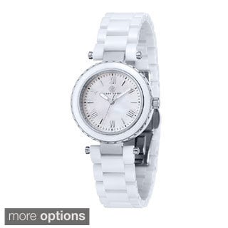 Klaus Kobec Women's 'Venus' Stainless Steel Watch