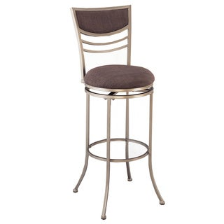 Amherst Charcoal Swivel Stool