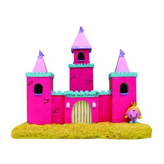 Little Miss Princess Castle Aquarium Ornament