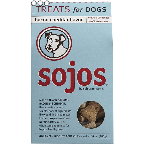 Sojos 100% Natural 10-ounce Dog Treats