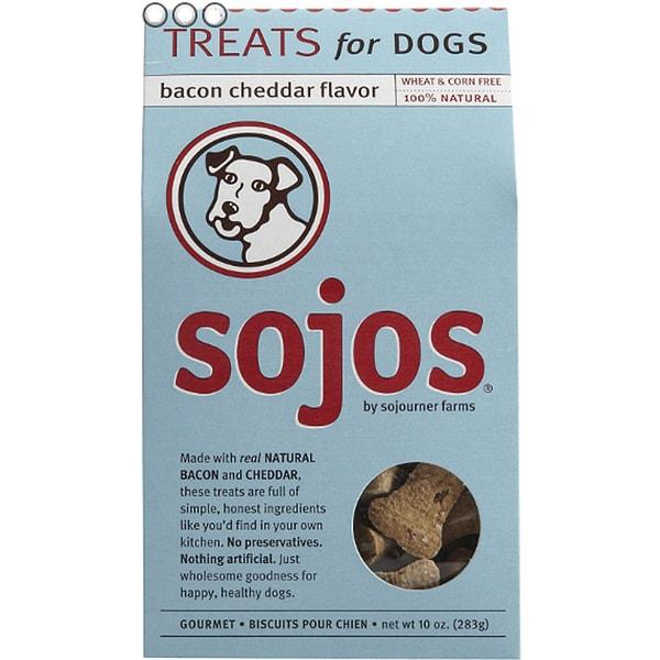Sojos 100% Natural 10-ounce Dog Treats