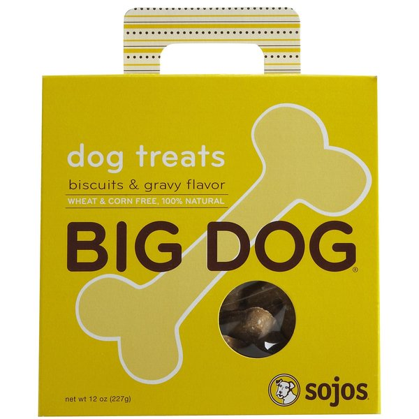 Sojos Big Dog 100 Natural 12-ounce Dog Treats (Pack of 2)