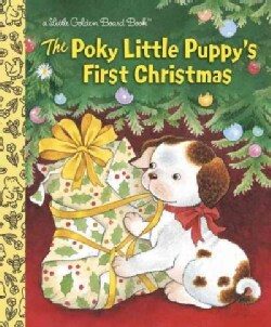 The Poky Little Puppy's First Christmas (Board book)
