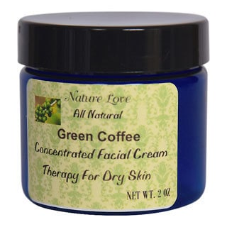 All Natural Green Coffee Facial Cream For Dry Skin
