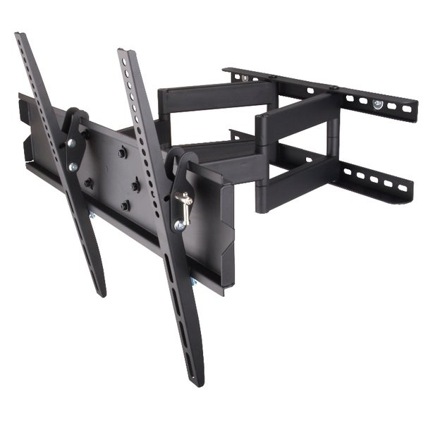 Mount-It! Dual Arm Swivel Wall Mount for 32-55-inch Flatscreens